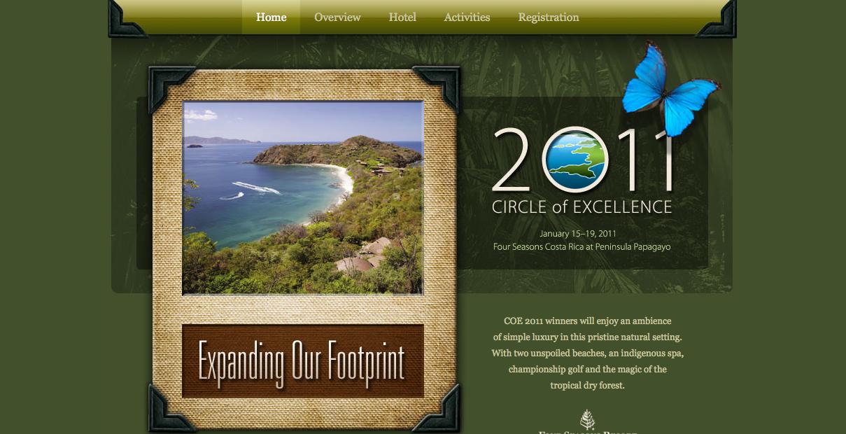 Landing Page for FICO Travel Award Copywriter Al Lefcourt