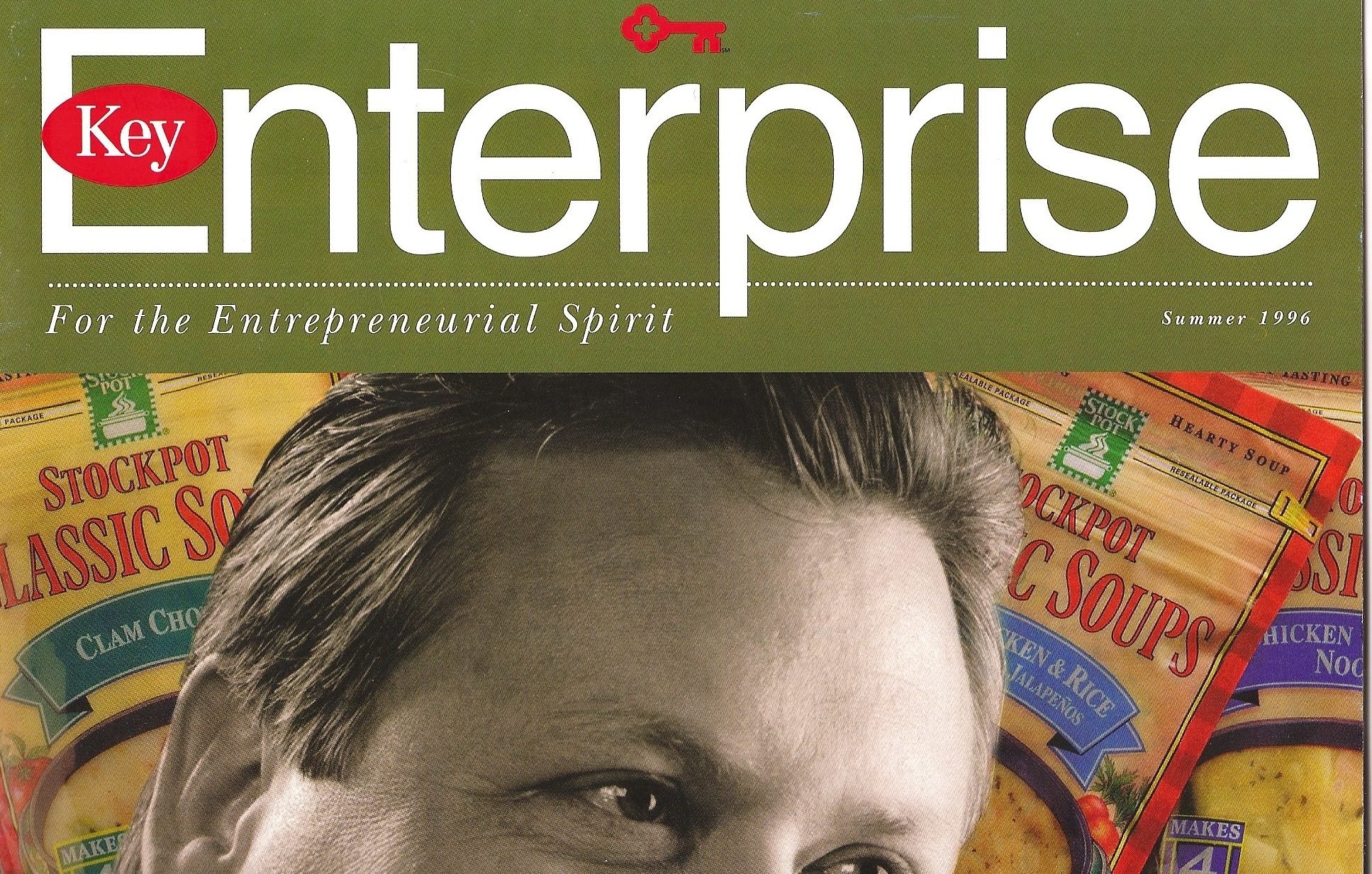 Enterprise Magazine Custom Publishing for Key Bank Copywriter Al Lefcourt